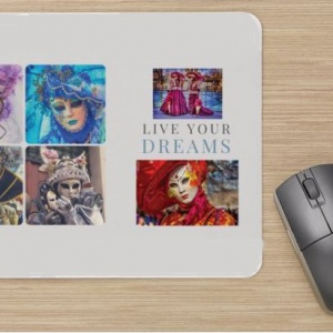 Tapis de Souris  » Live your Dreams »