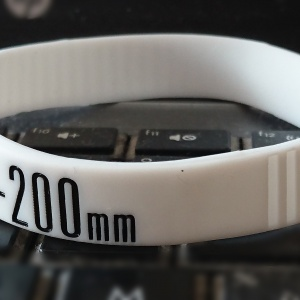 Bracelet anti « Lens Creep » pour zoom  70-200 mm Blanc